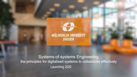 Miniatyr för inlägg Systems-of-Systems Engineering
