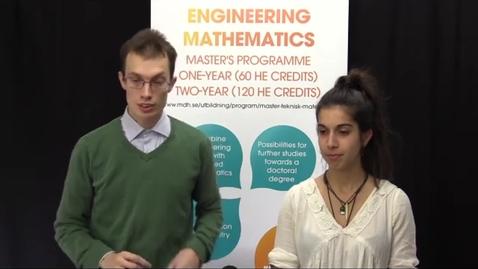 Miniatyr för inlägg Engineering Mathematics - webinar 4 Oct 2018