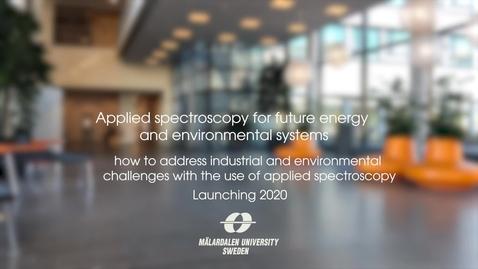 Miniatyr för inlägg Applied Spectroscopy for Future Energy and Environmental Systems