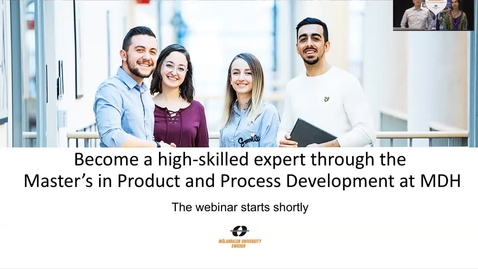 Miniatyr för inlägg Product and Process Development - webinar 25 Oct 2018