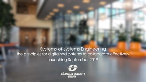 Miniatyr för inlägg Systems-of-systems Engeneering