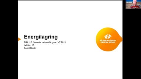 Miniatyr för inlägg ERA115 VT2021 Lektion 10 Energilagring