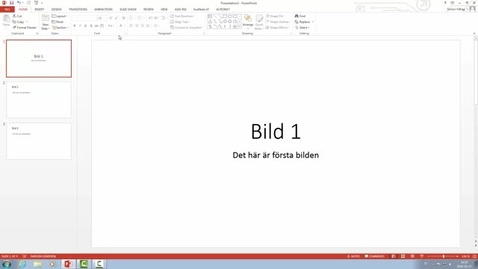 Miniatyr för inlägg Spela in ljud i PowerPoint