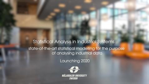 Miniatyr för inlägg Statistical Analysis in Industrial Systems