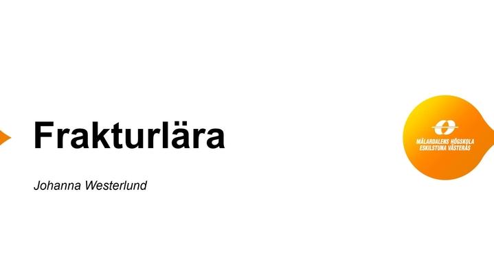 Miniatyr för kanal Johanna Westerlunds filmer