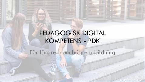 Miniatyr för inlägg PDK inom högre utbildning