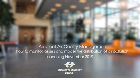 Miniatyr för inlägg Ambient Air Quality Management