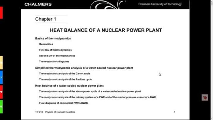 Miniatyr för kanal TIF210 Physics of nuclear reactors