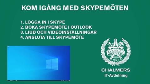 Kom igång med Skypemöten