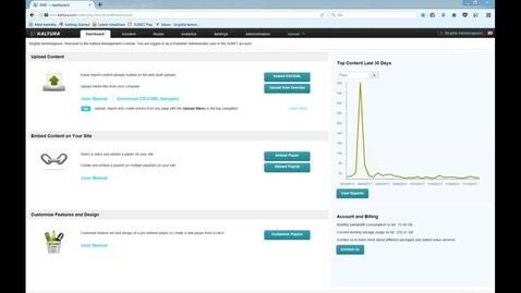 Thumbnail for entry Embedded links analytics in KMC