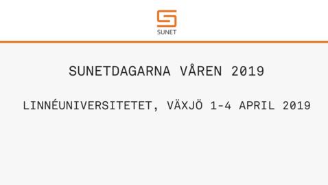 Thumbnail for entry SUNETDAGARNA VÅREN 2019