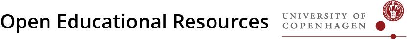 Open Educational Resources from University of Copenhagen