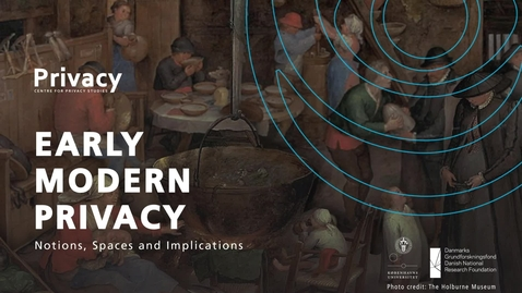 Thumbnail for entry Privacy Conference 2019 Keynote Lecture by Maarten Delbeke