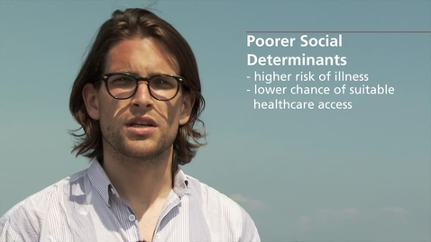 Thumbnail for entry An Introduction to Global Health -  Determinants and Driver of NCDs (08:20)