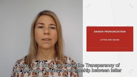 Thumbnail for entry Danish pronunciation_international students_2020
