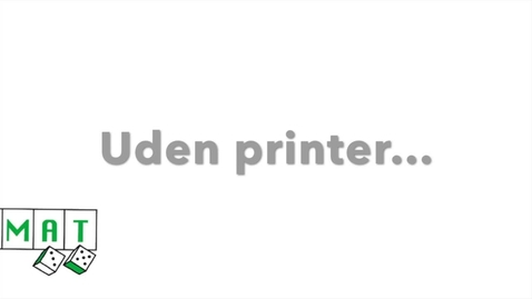 Thumbnail for entry DOMAT - uden en printer