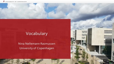 Thumbnail for entry Vocabulary - Academic Writing_international students 2020