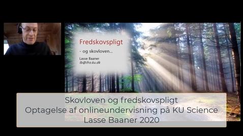 Thumbnail for entry Skovloven - Fredskovspligt, kommunal planlægning og skovlovsafgørelser