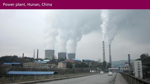 Thumbnail for entry Air Pollution - a Global Threat to our Health:  Sources and Composition of Air Pollution (07:40)