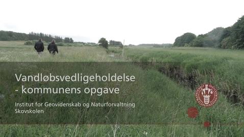 Thumbnail for entry Vandløbsvedligeholdelse - Kommunens opgaver
