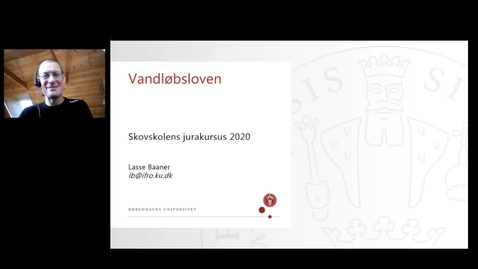 Thumbnail for entry Vandløbsloven