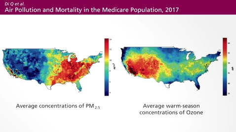 Thumbnail for entry Air Pollution - a Global Threat to our Health:  Epidemiological Principles of Air Pollution (07:33)