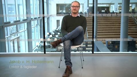 Thumbnail for entry Brug af kursusportfolio på Københavns Universitet - Jakob Holtermann