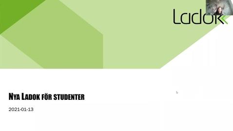 Miniatyr för inlägg Demo av nya Ladok för studenter och information inför leverans