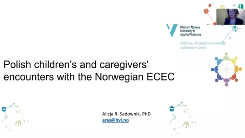 Thumbnail for entry Polish children's and caregivers' encounters with the Norwegian ECEC