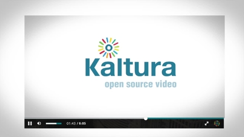 Thumbnail for entry Kaltura Player ToolKit