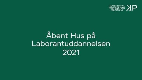 Thumbnail for entry Webinar - Laborantuddannelsen
